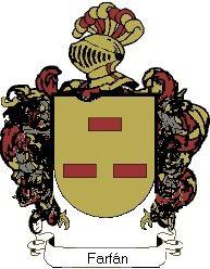 Escudo del apellido Farfán