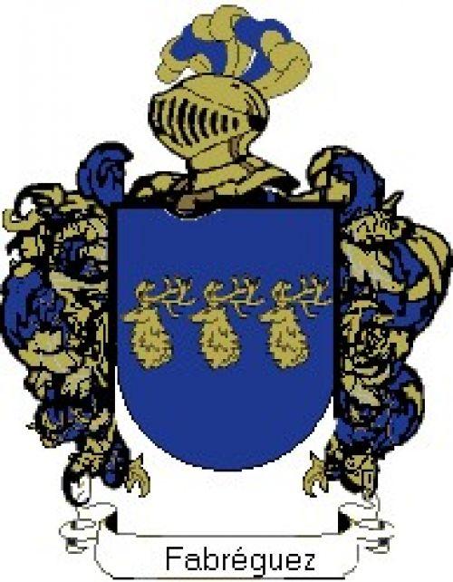 Escudo del apellido Fabréguez