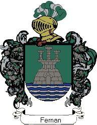 Escudo del apellido Fernan