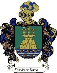 Escudo del apellido Fernán de sama