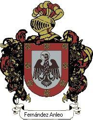 Escudo del apellido Fernández anleo