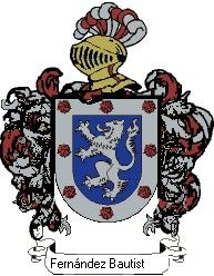 Escudo del apellido Fernández bautista