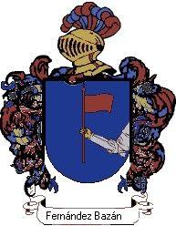 Escudo del apellido Fernández bazán