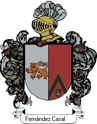 Escudo del apellido Fernández casal