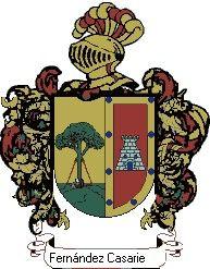 Escudo del apellido Fernández casariego