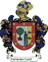 Escudo del apellido Fernández castrillón