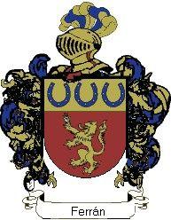 Escudo del apellido Ferrán