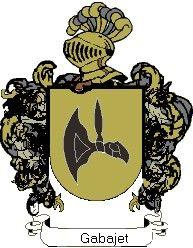 Escudo del apellido Gabajet