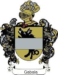 Escudo del apellido Gabala