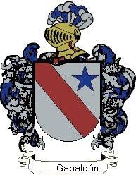 Escudo del apellido Gabaldón
