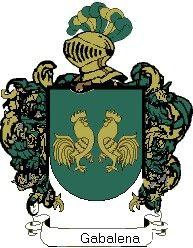 Escudo del apellido Gabalena