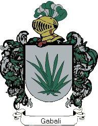 Escudo del apellido Gabali