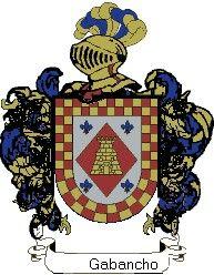 Escudo del apellido Gabancho