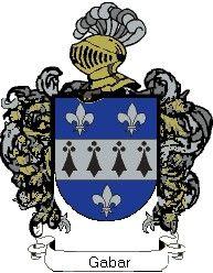 Escudo del apellido Gabar