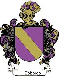 Escudo del apellido Gabardo
