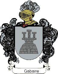 Escudo del apellido Gabarre
