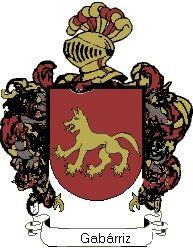Escudo del apellido Gabárriz