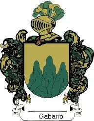 Escudo del apellido Gabarró