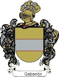 Escudo del apellido Gabarrón