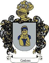 Escudo del apellido Gabas