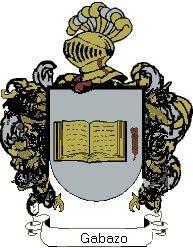 Escudo del apellido Gabazo