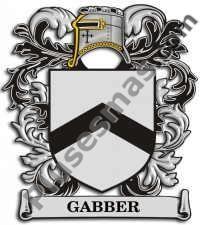 Escudo del apellido Gabber