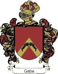 Escudo del apellido Gabe