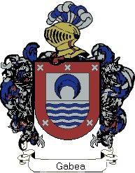 Escudo del apellido Gabea