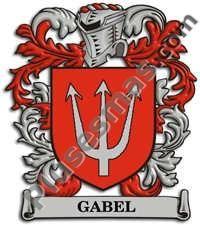 Escudo del apellido Gabel
