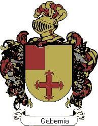 Escudo del apellido Gabernia