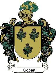 Escudo del apellido Gabert