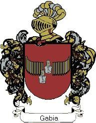Escudo del apellido Gabia