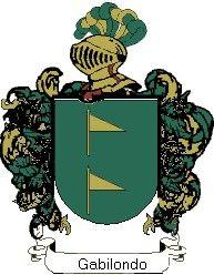 Escudo del apellido Gabilondo