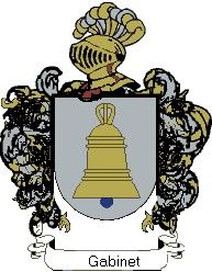 Escudo del apellido Gabinet