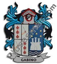 Escudo del apellido Gabino