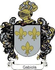 Escudo del apellido Gabiola