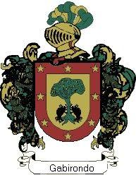 Escudo del apellido Gabirondo