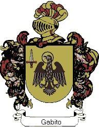 Escudo del apellido Gabito