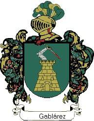 Escudo del apellido Gablárez