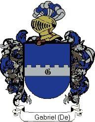 Escudo del apellido Gabriel (de)