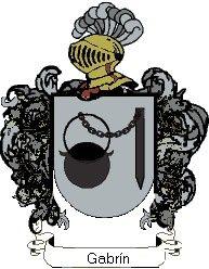 Escudo del apellido Gabrín