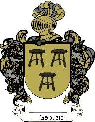 Escudo del apellido Gabuzio