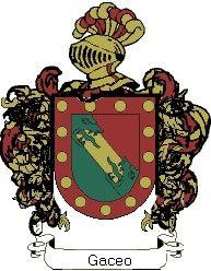 Escudo del apellido Gaceo