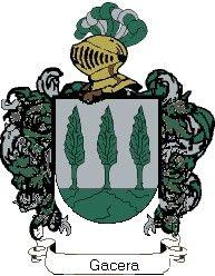 Escudo del apellido Gacera