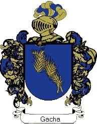 Escudo del apellido Gacha