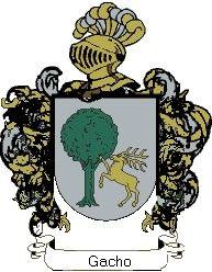 Escudo del apellido Gacho