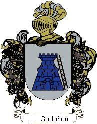 Escudo del apellido Gadañón
