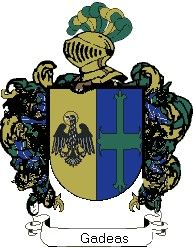 Escudo del apellido Gadeas