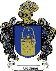 Escudo del apellido Gadeine