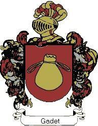 Escudo del apellido Gadet